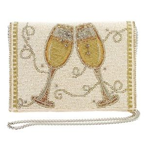 Mary Frances Champagne 🥂 Taste Crossbody Bag